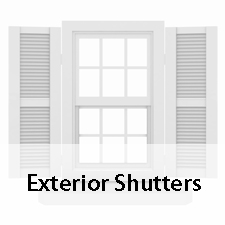 Exterior Shutters - Southeastern Door and Window - Biloxi MS - (228) 396-0077