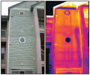 thermogram - Infared Moisture Detection - Southeastern Door and Window - Biloxi MS - (228) 396-0077