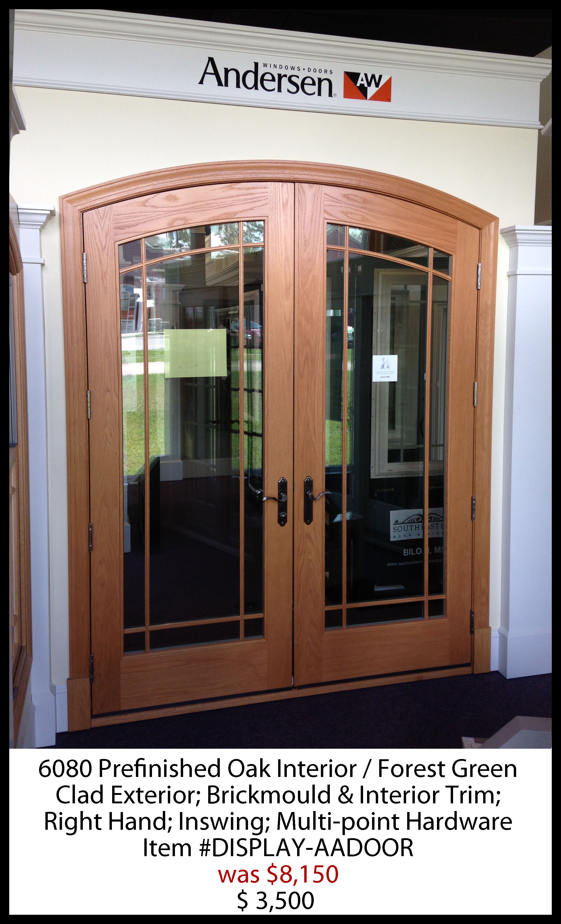 Prefinished Oak Interior Door Southeastern And Window Biloxi Ms 228